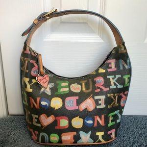 Dooney&Bourke Multi-Colored Shoulder Bag